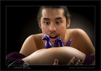 Accessoire shooting photo petit dragon