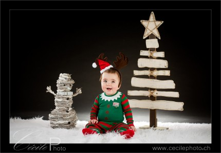 Décor Noël pour shooting photo