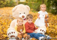 Gros ours beige clair